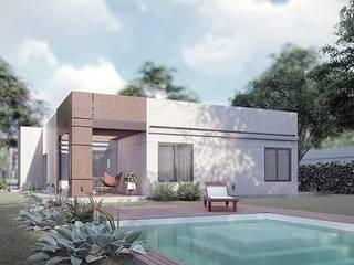 Vivienda 179.84 m2 Baños clásicos de LGA CONSTRUCTORA Clásico