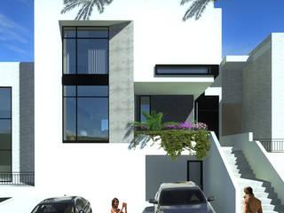 Minimalistische Häuser von Arqcubo Arquitectos Minimalistisch