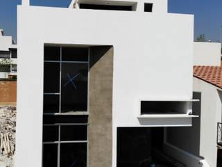Arqcubo Arquitectos Rumah tinggal Beton White