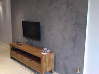 Efeito Cimento queimado Mvs Pinturas/restauração e revestimento CasaAcessórios e Decoração Cinza