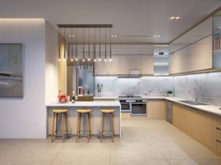 Lôi cuốn bởi những mẫu phòng khách hiện đại: tối giản  by Mspace.vn, Tối giản