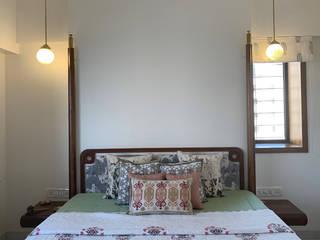 1202, Mumbai:  Bedroom by insitu by kalakaarihaath,Classic