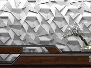 ZICARO - producent paneli 3D Modern Walls and Floors Ceramic Grey