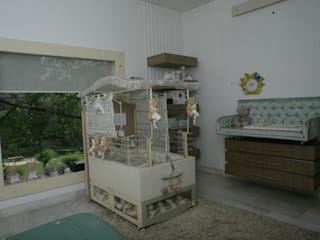 New born Baby Room by Tanish Dzignz Minimalist