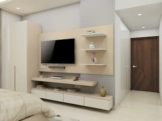 High Society Modern House Modern style bedroom by Tanish Dzignz Modern