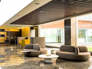 Modern Office Design- bespoke luxury Modern office buildings by Tanish Dzignz Modern