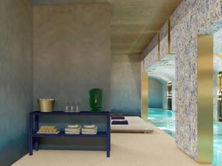 5 star Hotel, Praça da Alegria Spa: Spas  por Inêz Fino Interiors, LDA,Moderno