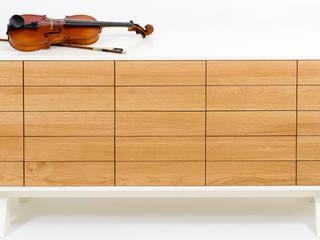 Ladekast voor bladmuziek: modern  door MO&U, Modern