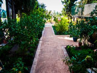 Reforma exterior de Carmen en el barrio del Albayzin (Granada) Landscapers Jardines de estilo clásico