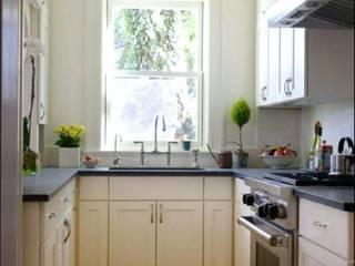 Cocinas Cocinas de estilo moderno de Constructora Arcus Limitada Moderno