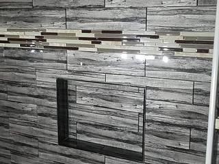 Phòng tắm phong cách hiện đại bởi Constructora Arcus Limitada Hiện đại