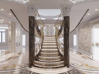 Corridor & hallway by Студия дизайна интерьера Руслана и Марии Грин, Classic