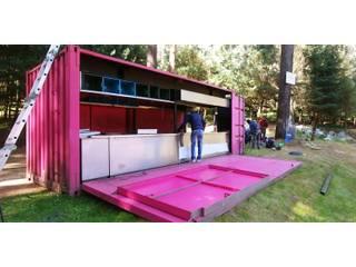 AWA arquitectos Restaurantes Metal Rosa