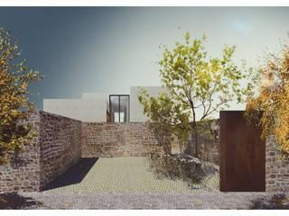 Minimalistische huizen van AWA arquitectos Minimalistisch