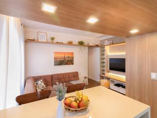 MOOD- Apartamento Alameda Santos por Estudio MOOD Rústico