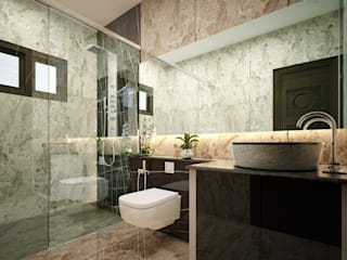 Monnaie Interiors Pvt Ltd Colonial style bathrooms