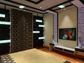 bedroom design Modern style bedroom by Dominic Interiors Modern