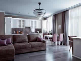 Классическая квартира на ул. Кирочная, в г. Санкт-Петербург, 2019г. Кухня в классическом стиле от ArtDD.club Классический