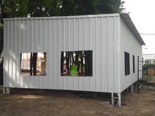 Edificio descanso KWS. Manuel Ocampo. do Arquitectura (Construcción en Steel Framing y Panales Sip) Edificios de oficinas de estilo industrial