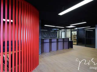 Alessandra Pisi / Pisi Design Architetti Office buildings Wood Red