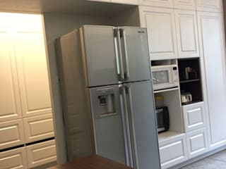 Hoop Pine Interior Concepts Kitchen units Engineered Wood White