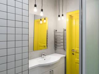Salle de bains de style  par SUNINROOM, Scandinave
