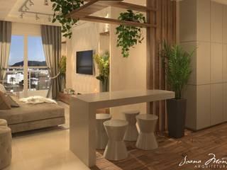 Salas / recibidores de estilo  por Arquiteta Joana Monteiro, Moderno