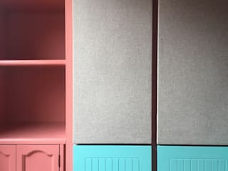 entrearquitectosestudio Study/officeAccessories & decoration Chipboard Turquoise