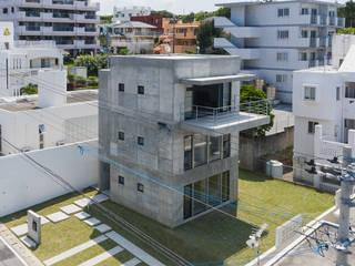 Single family home by 株式会社クレールアーキラボ, Eclectic