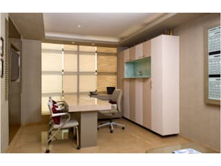 office cabin Modern office buildings by Tanish Dzignz Modern