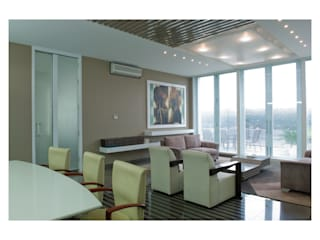 Luxury Office, MD floor Modern office buildings by Tanish Dzignz Modern