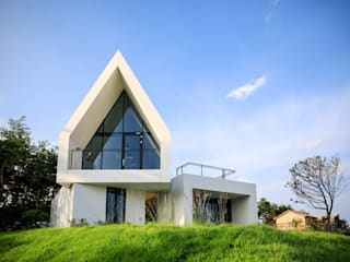 House in White by AEV Architectures (아으베아키텍쳐스) 미니멀