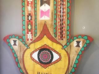 Artigos de Decoração Artesanais em madeira reciclada II:   por Officina Boarotto ,Rústico