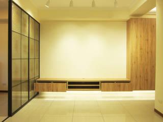 Salon scandinave par ISQ 質の木系統家具 Scandinave