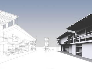 Arquide Estudio: PROYECTOS Estudios y despachos de estilo moderno de Arquide Estudio, reforma y rehabilitación en Madrid Moderno