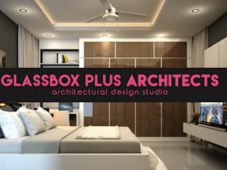 Residential 3D Interior Design Modern style bedroom by Glassbox Plus Architects Modern