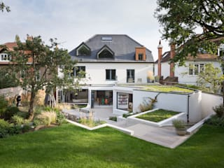Weaving House Fraher and Findlay Jardin moderne