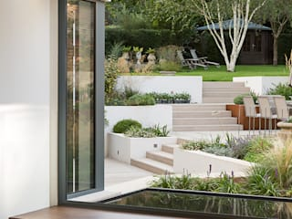 Weaving House Modern style gardens by Fraher and Findlay Modern