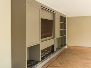 Studio DEEVIS Living roomCupboards & sideboards Wood Grey