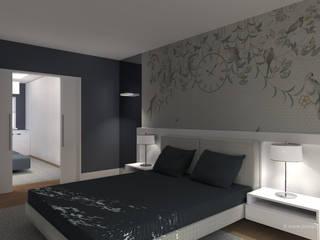 Modern style bedroom by João Patrício Arquitectos Modern