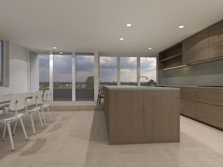 Studio DEEVIS Modern kitchen Wood