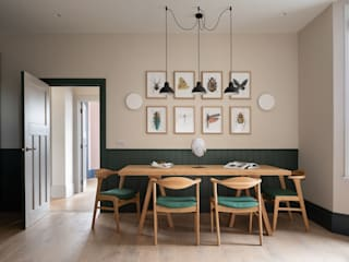 Dining room by Fraher and Findlay, Scandinavian