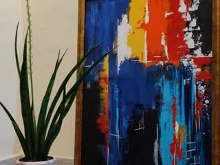 The Blue Wave: modern  by Aprajita Gupta Gallery,Modern