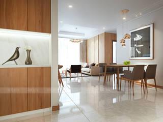 Modern living room by RIKATA DESIGN Modern