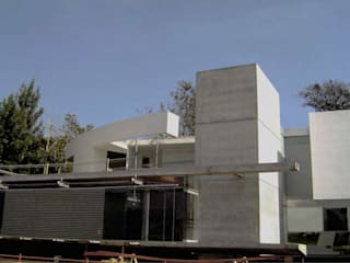 AGE/Alejandro Gaona Estudio Detached home Concrete White