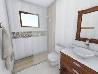 浴室 by Igor Cunha Arquitetura , 現代風