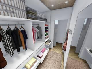 Modern dressing room by Igor Cunha Arquitetura Modern