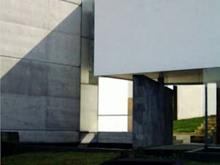 AGE/Alejandro Gaona Estudio Single family home Stone Grey