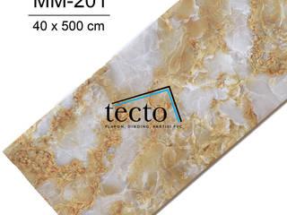 TECTO Plafon PVC – Premium - 40cm x 500cm Oleh Tecto Plafon Klasik