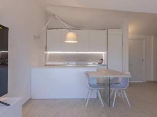 Micro Interior Design Modern Kitchen Wood White